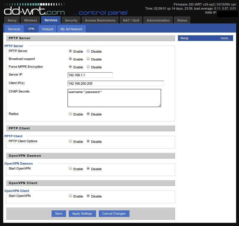 Настройка openvpn dd wrt сервер как поставить свой сервер на хостинг myarena