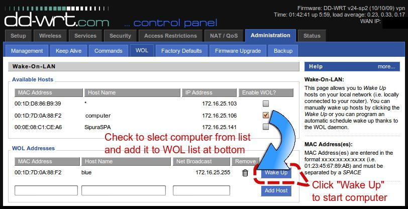 Remote Access your Home Computer – Setup a VPN with DD-WRT