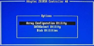Array configuration utility hp скачать