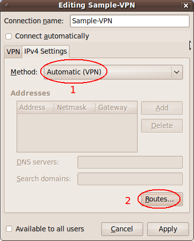 Ubuntu VPN Connection for Dummies | geekyprojects com